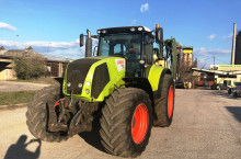 Claas AXION 820 НАЛИЧЕН И НАМАЛЕН!