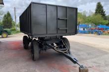 Български Ремарке за трактор с чисто нов кош