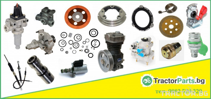 Други Гел за гуми, който предотвратява спуквания на гумите за селскостопанска и горска техника и индустриални машини 12 - Трактор БГ