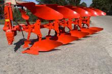 Употребяван обръщателен плуг KUHN с 5 тела