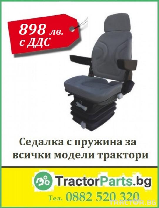 Части за трактори John-Deere Оригиналнa седалкa Grammer Delux - За всички модели трактори 2 - Трактор БГ